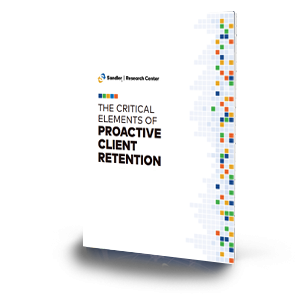 The Critical Elements of Proactive Client Retention